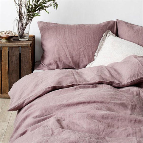 100% Pure Linen Bedding Sets  Waterwash Linen duvet cover  1 pcs