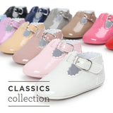 12 Color Fashion Baby Girls Baby Shoes Cute Newborn First Walker Shoes Infant Letter Princess Soft Sole Bottom Anti-slip Shoes - thefashionique