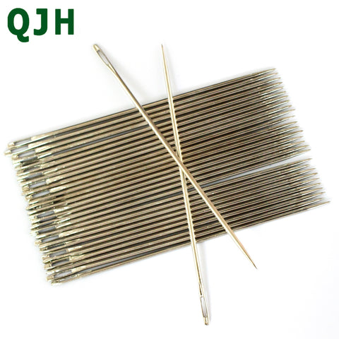 "12pcs 4size Hand Stitches Stainless Steel Embroidery Needle Needlework knitting Needles Arts & Crafts Sewing Tools  4"" 5"" 6"" 7"" - thefashionique"