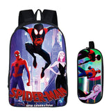 16 inch Kids Backpack Spideran Into the Spider-Verse Children School Bags For Boys Orthopedic Child BookBag Knapsack Mochila - thefashionique
