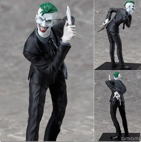 19cm Anime Joker Action Figure Batman ARTFX + DC COMIC Arkham Knight PVC Collection Hobby Movable Model Doll Best Gift Cosplay