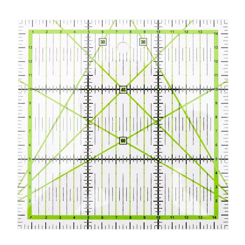 1PC DIY Hand Tool Patchwork Ruler Square Fan Shape Tailor Yardstick Cloth Cutting Rulers Sewing Arts Craft DIY Sewing Tools HOT - thefashionique