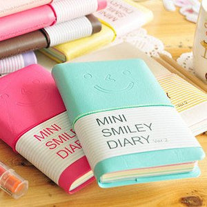 1PC Kawaii Smile diary planner notebooks Diary book Stationery Wholesale(SS-551)