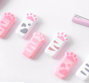 1pc 6 Meters Kawaii Cat Claw Design Correction Tapes Office Zakka School Stationery Girl Gift Supplies  (tt-4018)