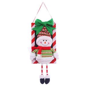 1pc Xmas Christmas Ornaments Decoration Wall Fireplace Christmas Tree Hanging Decoration Party Favors Ornament Supplies