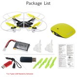2.4GHz Remote Control One-key Motion Controlling Drone TB-802 RC Quadcopter with 360 Flip Function Hand Sense Helicopter - thefashionique