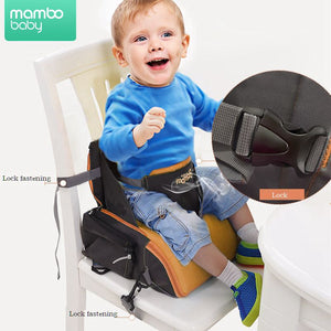 2 IN 1 Portable baby Booster Seats  diaper dag for mom baby chair feeding mama sandalyesi  nappy bag diaper backpack