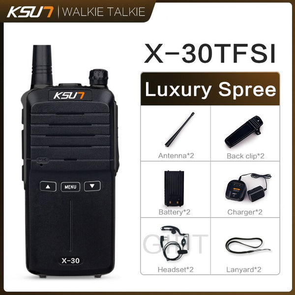 2 PCS Talkie Walkie Scanner  UHF Walkie Talkie 10KM Two Way Ham Radio Station Radio  Comunicador Walkie-talkie
