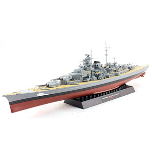 2 Styles world war two Classic battleship Missouri Bismarck 1/700 Scale Assembly Model Building Kits - thefashionique