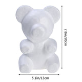 200mm Wedding decoration Foam bear Modelling Polystyrene Styrofoam Foam bear/Rabbit/Dog/Rose/Balls For DIY Party Decor Gifts - thefashionique