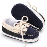 2017 Autumn Baby boy Shoes First Walker Lace-up T-tied solid color casual Toddler Shoes Non-slip Soft Bottom Warm Shoes - thefashionique