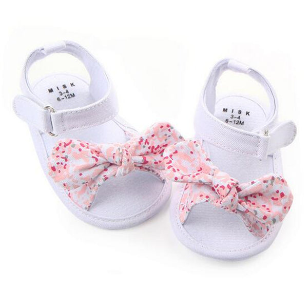 2017 Lovely Flower Baby Summer Shoes Newborn Girls Antislip First Walkers - thefashionique