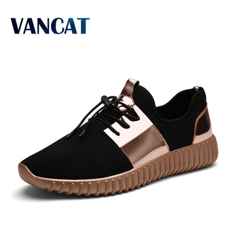 2017 New Summer Breathable Shoes Men Flat shoes Autumn Fashion  Men Shoes Couple  Casual  Shoes Plus size 35-46 - thefashionique