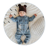 2017 Soft Denim Baby Romper Graffiti  Infant Clothes Newborn Jumpsuit Babies Boy Girls Costume Cowboy Fashion Jeans Children - thefashionique