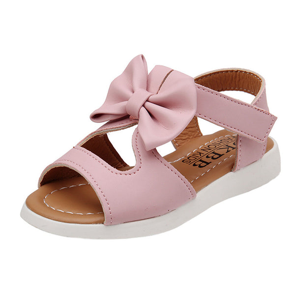 2018 ARLONEET Summer Kids Children Sandals Fashion Bowknot Girls Flat Pricness Shoes Toddler Sandals Sandalen Meisje Infantil - thefashionique