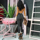 2018 Autumn Very Sexy Denim Pencil Pants Slim High Rise Skinny Jeans Regular Fit Stretch Fabric Basic Essential - thefashionique