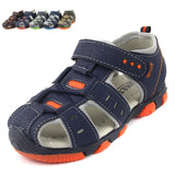 2018 Children sandals boy's sandals fashion shoes casual sandals hollow air sport sandals - thefashionique