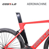 2018 Costelo AEROMACHINE MONOCOQUE one piece Carbon Road Complete Bike Road Bicycle Frame wheels R8000 Group - thefashionique