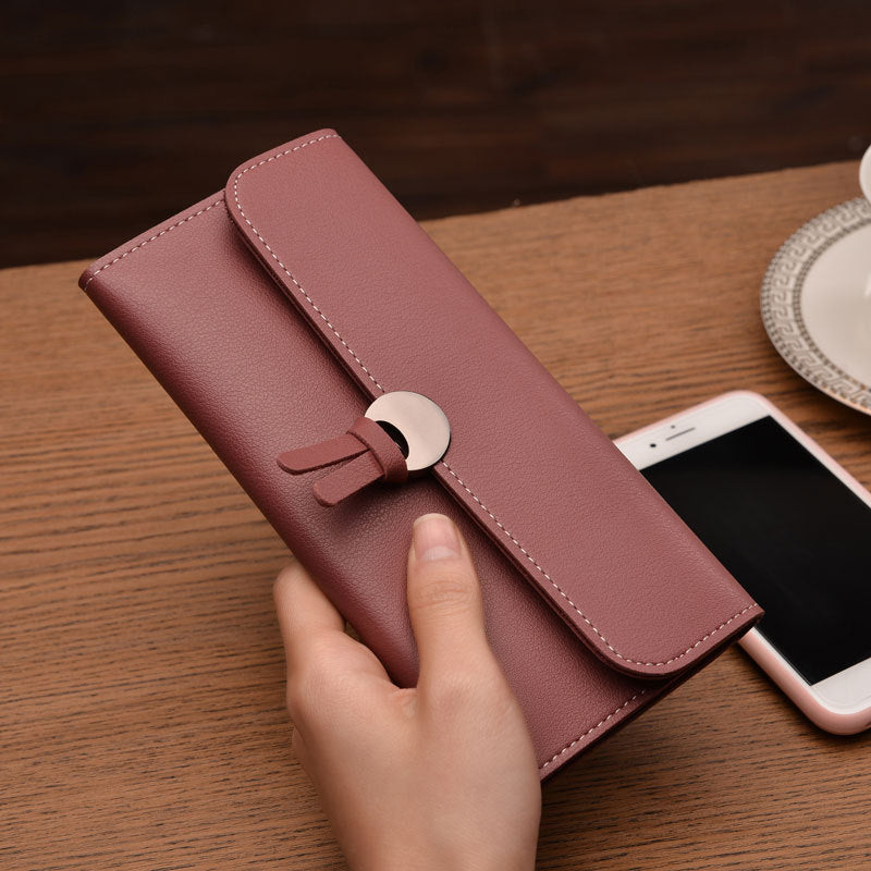 2018 Fashion Long Women Wallets High Quality PU Leather Women's Purse and Wallet Design Lady Party Clutch Female Card Holder - thefashionique