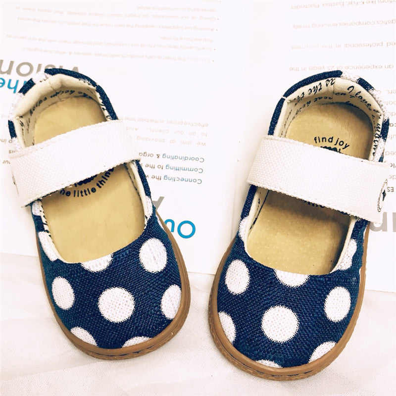2018 Fashion designer SCHOOL boys girls leather kids shoes for boys girls kids children shoes Flamingo Polka Dot - thefashionique