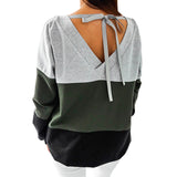 2018 Female Plus Size Winter Sweatshirt Women Autumn Sweatshirt Harajuku Hoodies Patchwork Tracksuits Pullovers Hoody Tops GV991 - thefashionique