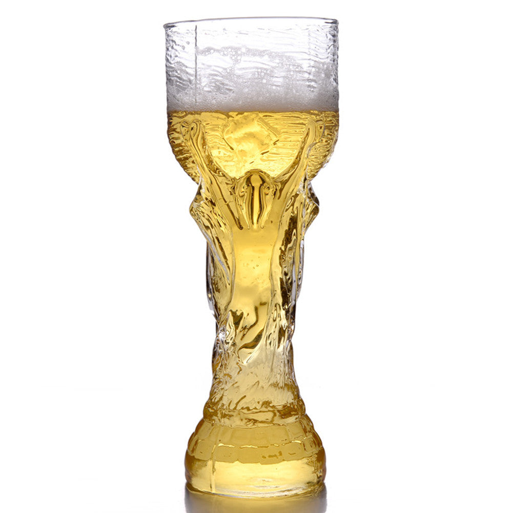 2018 Football Soccer cup Creative Champions Cup Beer Glass Mug 350/450ml Cheers - thefashionique