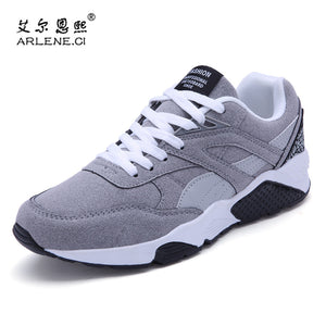 2018 Hot Sale Men's Vulcanized Shoes Spring/Autumn Men Shoes High Quality Frosted Suede Casual Shoes Platform Lace Up Footwear - thefashionique