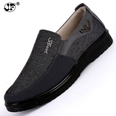 2018 Men'S Casual Shoes,Men Summer Style Mesh Flats For Men Loafer Creepers Casual High-End Shoes Very Comfortable Size:38-44 - thefashionique
