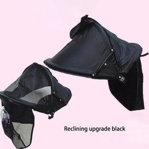2018 New Baby Stroller Accessories Kids Stroller Sunshade Cover Multi-purpose Warm Windproof Hood Stroller Accessories - thefashionique