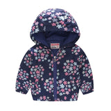 2018 Brand Kids Clothes Boys Girls Jackets Children Hooded Windbreaker Infant Waterproof Hoodies Toddler Baby Coat For Kids 2-7T - thefashionique