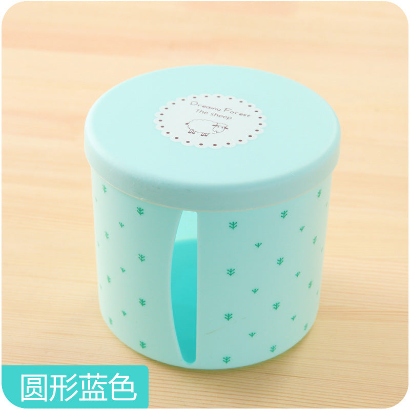 2018 New Fashion High Quality  Round Waterproof Plastic Toilet Toilet Paper Holder Large Cartons Towel Rack Broader Tissue Box - thefashionique