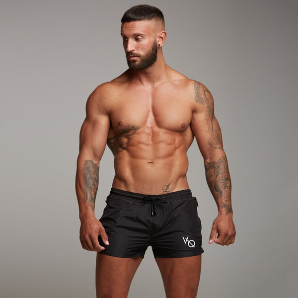 2018 New Men Gyms Fitness Bodybuilding Shorts Mens Summer Casual Cool Short Pants Male Jogger Workout Beach Brand Breechcloth - thefashionique