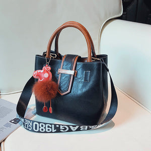 2018 New Women Bag Casual Pig Hair Ball Shoulder Bag Chain Handbags Women Messenger Bags Evening Party Bag Female Bolsos Mujer - thefashionique