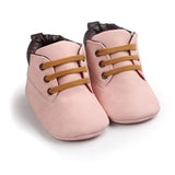 2018 Spring / Autumn Infant Baby Boy Soft Sole PU Leather First Walkers Crib Shoes 0-18 Months - thefashionique