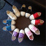 2018 Spring Canvas Children Shoes Girl Breathable Sneaker Shoes Boys&Girls Not Smelly Feet Soft Chaussure/Kids Sneakers - thefashionique