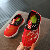 2018 Summer Fashion Kids Shoes Cut-outs Air Mesh Breathable Shoes For Boys Girls Children Sneakers Baby Boy Girl Sandals - thefashionique