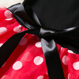 2018 Summer New Kids Dress Princess Party Costume Infant Girls Polka Dot Clothing Baby Clothes Birthday Gown Girls Tutu Dresses - thefashionique