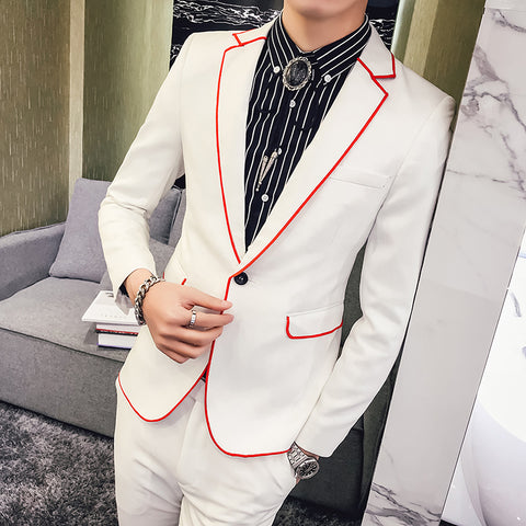 2018 White Suits Mens Wedding Suits For Mens Black Tuxedo Takim Elbise Terno Masculino Slim Fit Traje Hombre Formal Italian