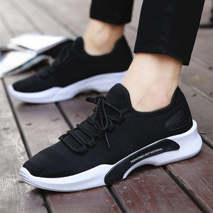 2018 new stock canvas casual vulcanized shoes for men Korean fashion print flat spring autumn shoes sneakers - thefashionique