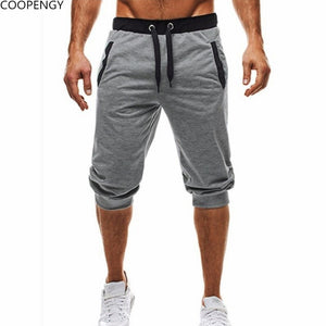 2018 summer New Fashion Men shorts Baggy Jogger Casual Slim Harem Short Slacks Casual Soft Cotton Trousers Shorts - thefashionique