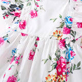 2019 Girls' flowers, Princess , children's beauty , long sleeves, sleeveless flower , summer. - thefashionique