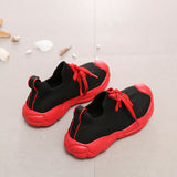 2019 New Spring Fashion Kids Casual Shoes Children Sport Sneakers Baby Girls Slip On Shoes Toddler Boys Mesh Brand Shoes Trainer - thefashionique