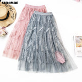 2019 New Spring high waist Korea style skirts Harajuku Skirts solid Loose skirt Plus Size Japanese school uniform dropshipping - thefashionique