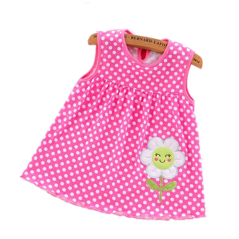 60ec7e41d 2019 New Style Baby Dress Princess For Infant Summer Stripes Baby Girl  Dresses Newborn Girls Cotton
