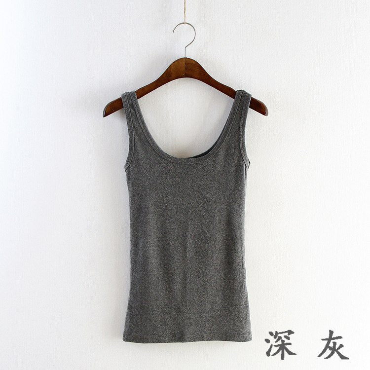 2019 Summer Fitness Tank Tops Sexy T Shirt Women Shirts Vest Cotton Cropped Sleeveless Round Neck Ladies Slim Clothes Femme