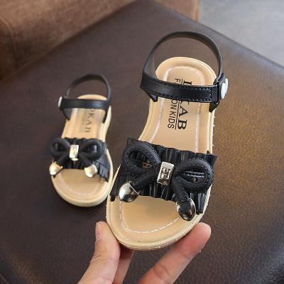 2019 Summer Kids Sandals For Girls Princess Shoes Children Beach Little Girls Open Toe Flat Pearl Casual Sandals Fashion Party - thefashionique