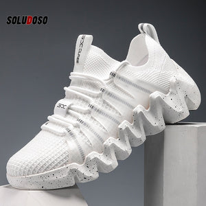 2020 New Casual Shoes for Men Fashion Mesh Breathable Sneakers Comfortable Men Shoes Trainers Size 39-45 Zapatillas De Hombre