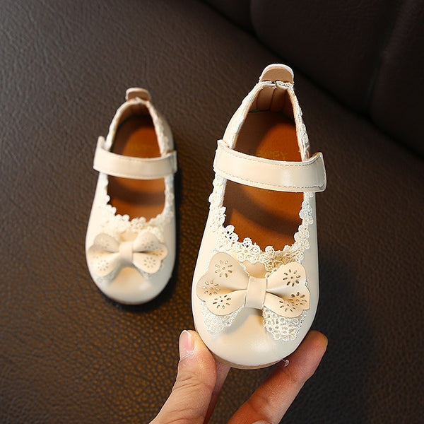 2020 New Design Spring Girls Leather Shoes Flowers Shoes for Girls Baby Infant Children Sandals Party Toddler Shoes Girl C11223
