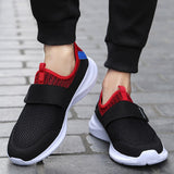 2020 Summer Breathable Mesh Sneakers Men Shoes Comfortable Slip On Mens Shoes Loafers Casual Walking Footwear Big Size 46 NANX23