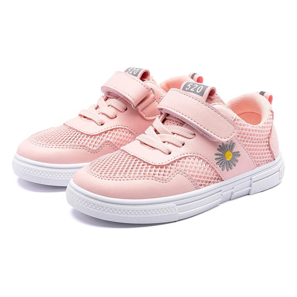 2020 girls fashion kids Trainers Non-slip Wear-resistant Collision Casual shoes Ventilation soft Light Comfortable Lazy shoes